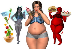 Психологические проблемы людей с лишним весом