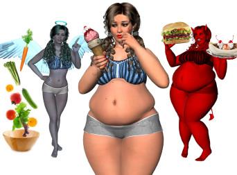 Психологические причины ожирения у женщин