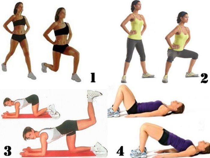для похудения живота и ног