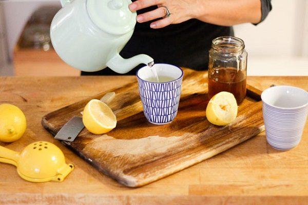 Лимон с водой для похудения