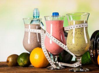 как приготовить в домашних условиях коктейль который снтжает.вес