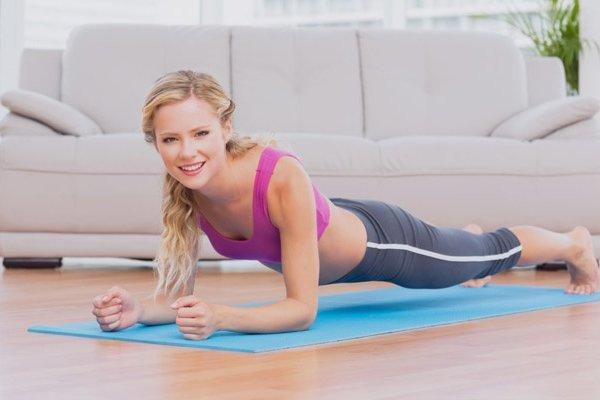 упражнения планка как правильно делать сколько