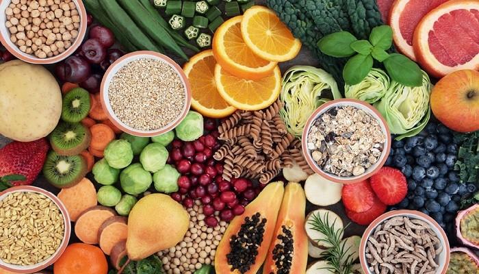 Мякоть фруктов и овощей, которые содержат клетчатку