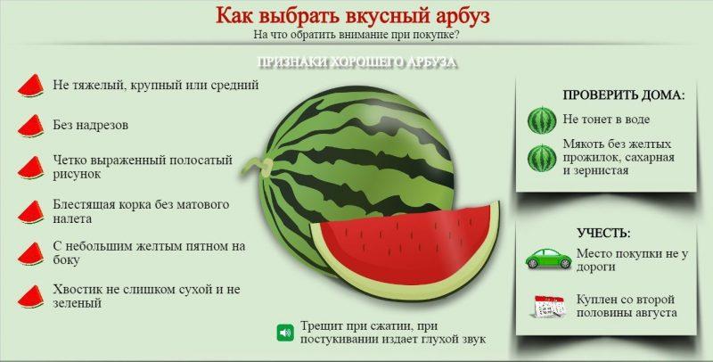 Можно ли при диете есть арбуз