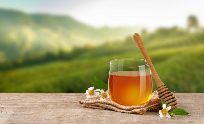 мед и диета для похудения
