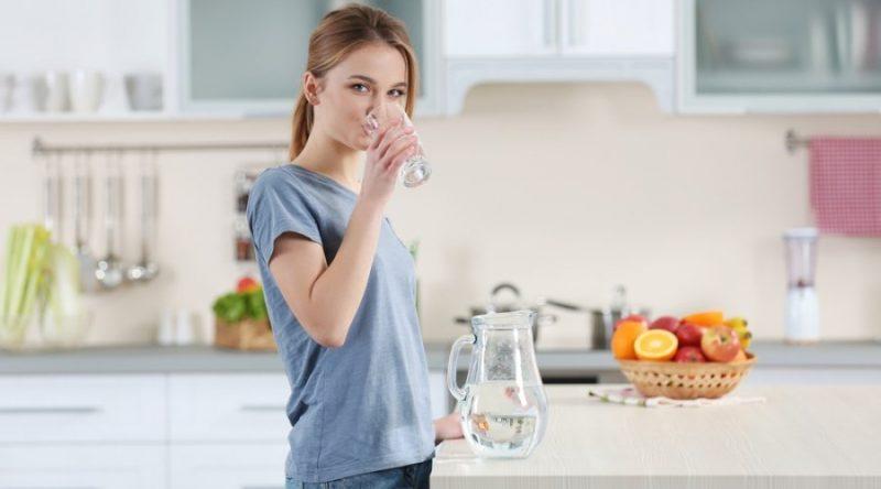 мои полезные привычки - соблюдение водного баланса