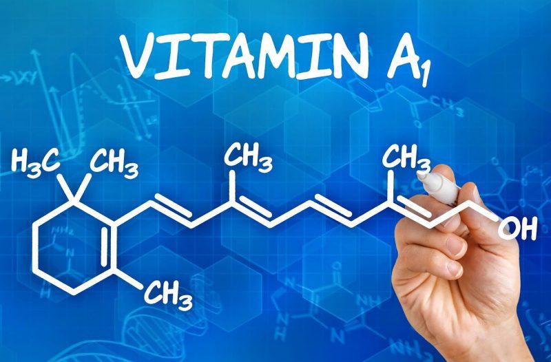 в чём содержится витамин а