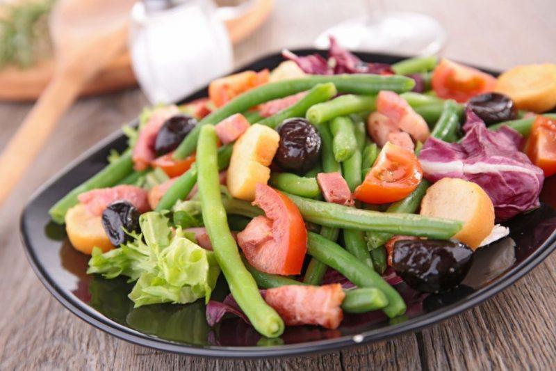 вкусные низкокалорийные салаты рецепты