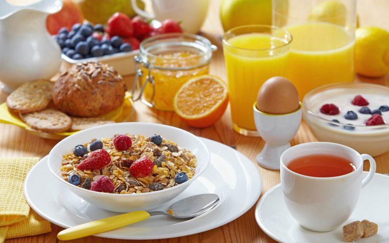 что съесть утром
