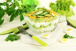 салаты для похудения лучшие рецепты и полезные