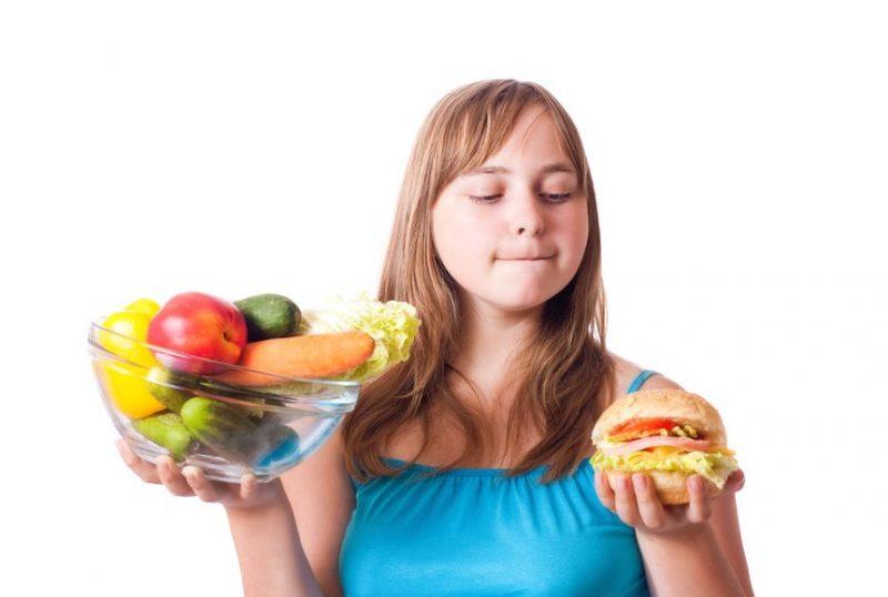 ожирение среди подростков